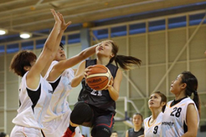 Diane Lee Scholar Basketball Academy Singapore